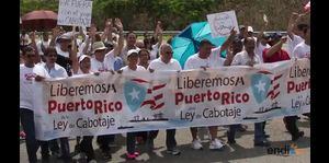 Protestan en contra de las leyes de cabotaje
