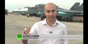 Migs de fuerza aérea de Rusia en Siria