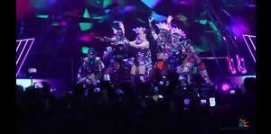 Electrizante Katy Perry en Puerto Rico