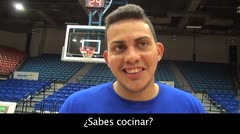 Álex Galindo sería veterinario si no jugara baloncesto