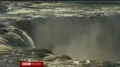 Las cataratas del Niagara congeladas
