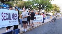 Protestan por los beneficios contributivos de las iglesias
