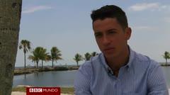 Cubano narra cómo llegó a Florida en una tabla de windsurf