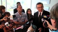 Gobernador justifica fiesta con sus excompa�eros de clase en La Fortaleza