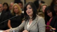 Senado eval�a designaci�n de Maite Oronoz al Tribunal Supremo