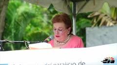 Conmemoran natalicio de Luis Mu�oz Rivera