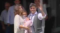 Alejandro Sanz presenta su cuarto hijo