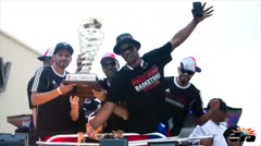 Ponceños celebran el campeonato de los Leones