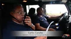 Voluntarios asisten durante la emergencia en Ponce