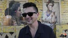 Juanes visita las obras de Santurce es ley