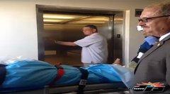 Llega en ambulancia aerea segundo policía herido