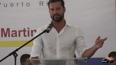 Ricky Martin inaugura Centro Tau