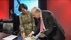 Con nueva presidenta el banco Santander