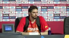 España dice adiós a la Copa del Mundo de baloncesto