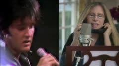 Barbra Streisand graba dueto virtual con Elvis Presley
