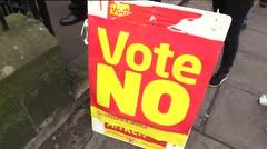 Leve ventaja del No en referendo de Escocia