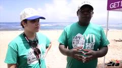 Recogen 1,283 libras de basura en playa Soleil