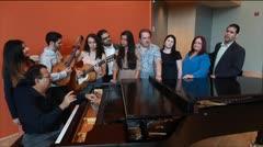 Ensayo del concierto en honor a Miranda Marín