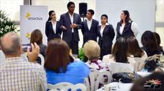 Estudiantes del RUM presentan iniciativa social