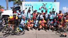 Bicicletada para promover la salud