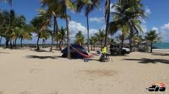 Campamento en La Ventana al Mar