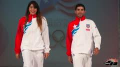 Delegación boricua desfila el vestimenta para lo Juegos de Veracruz