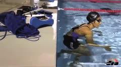 Vanessa García da su máximo en la piscina