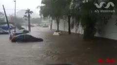 Inundaciones en San Patricio