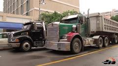 Manifestación de camioneros
