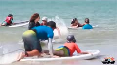 Surfing como terapia para niños autistas
