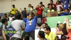 Judoca se queda con el estadio con su baile