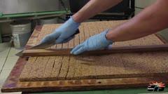 Creando dulces típicos en Lares
