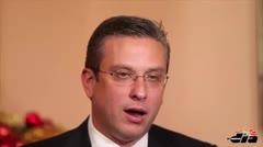Gobernador afirma que ganar�a una reelecci�n