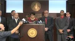 Conferencia de prensa de fiscalía federal