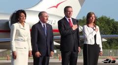 Llega el presidente dominicano a Puerto Rico