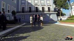 Reciben al presidente dominicano en Fortaleza