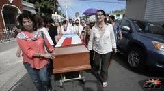 Funeral de Isabel Rosado