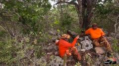 Fin de semana de caza en Isla Mona