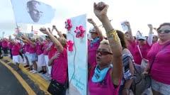 Mujeres ambientalistas piden libertad para Oscar López