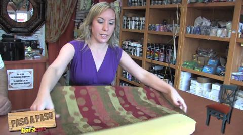 Paso a paso aprende a tapizar una silla - Tapizar sillon paso a paso ...